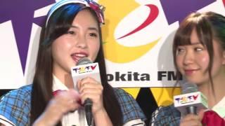 2016年10月13日放送 アシスタントMC:福地礼奈&廣瀬なつき(AKB48チー...