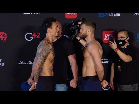 UFC Fight Night: Холлоуэй vs Кэттер -  Битвы взглядов