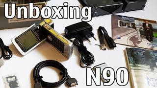 Nokia N90 Unboxing 4K with all original accessories Nseries RM-42 review