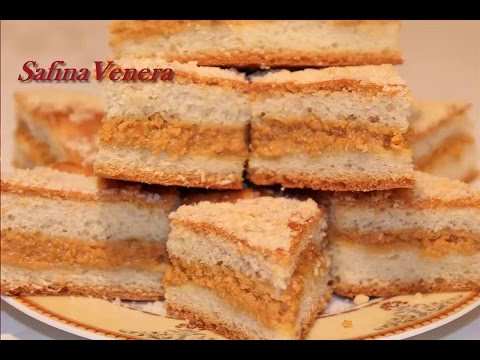 ПИРОГ. Сладкие татарские пироги. Пирог с красным творогом  кызыл эремчек.