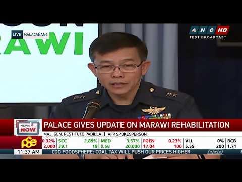 WATCH: Palace gives update on Marawi rehabilitation #BangonMarawi