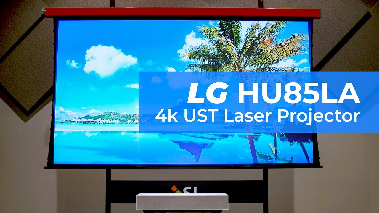 LG HU85L Gen-2 CineBeam 4K UHD/HDR Ultra Short Throw