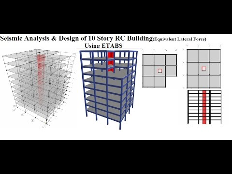 SEISMIC ANALYSIS & DESIGN OF 10 STORY RC BUILDING USING ETABS