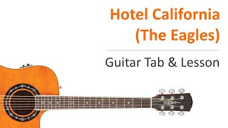 Hotel California (The Eagles) - Guitar Tab & Lesson