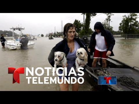 Noticias Telemundo, 28 de agosto de 2017 | Noticiero | Noticias Telemundo