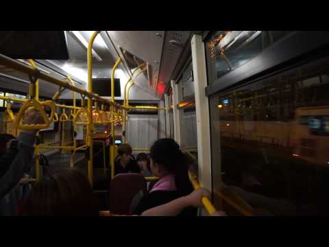 Macau, 26A bus ride @ night