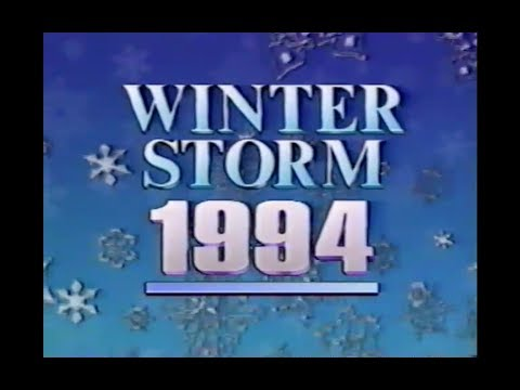 Winter Storm '94, Louisville KY - 1 Hour News Coverage Special
