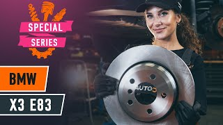 Replacing the Brake discs and rotors is easy - service videos & manuals