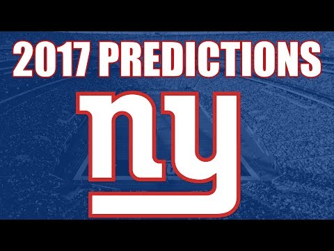 New York Giants 2017 Record Predictions