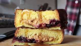 Peanut Butter And Jelly Stuffed French Toast - College Cooking