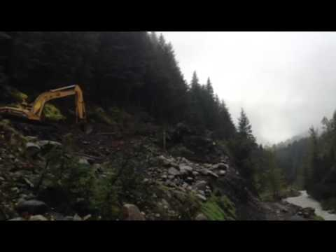 Mining At Porcupine Creek Alaska