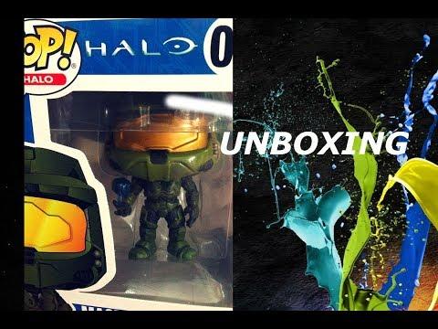 Funko POP GAMES Halo-IL SERGENTE Johnson