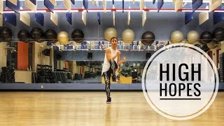 """Dance Fitness w/ Diny - """"High Hopes"""" (Panic! At The Disco) - Warm Up/Indie"""