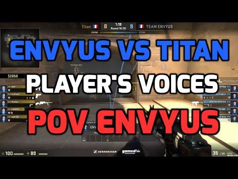 ESL Pro League Finals - EnVyUs vs Titan de_mirage with players voices (ENVYUS POV)