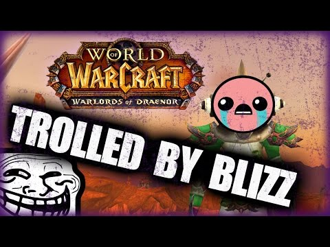 Trolled by Blizzard | Why I Wasn't LVL 100 | WOD