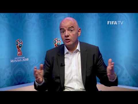 Message Du Président De La FIFA à Un An Du Coup D'envoi De La Coupe Du Monde Féminine De La FIFA