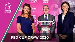 Live: 2020 Fed Cup Qualifiers Draw