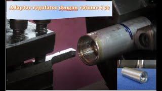 Pembuatan Adaptor Regulator Dengan Volume 8 cc