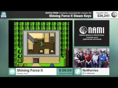 Shining Force II by NoWorries and BOWIEtheHERO RPG Limit Break 2016 Part 19