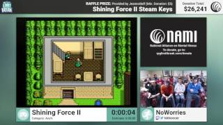 Shining Force II by NoWorries and BOWIEtheHERO (RPG Limit Break 2016 Part 19)
