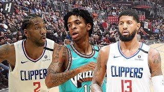 Memphis Grizzlies vs Los Angeles Clippers - Full Highlights   February 24, 2020   2019-20 NBA Season