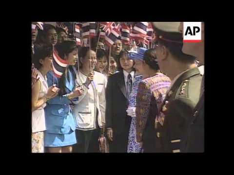 Thailand - Queen's visit