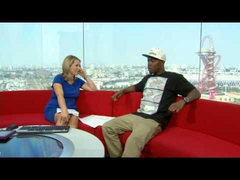 DIZZEE RASCAL - LONDON 2012 - BBC WORLD NEWS