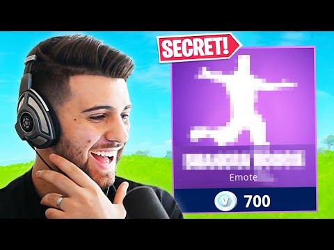 Fortnite gave me EARLY ACCESS to a SECRET Emote!