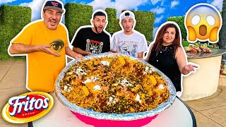 We Made the WORLD'S BIGGEST Frito pie !!