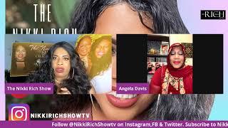 The Nikki Rich Show live with Angela Davis