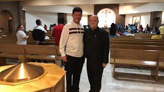 Padre Luis Toro en Waldorf MD