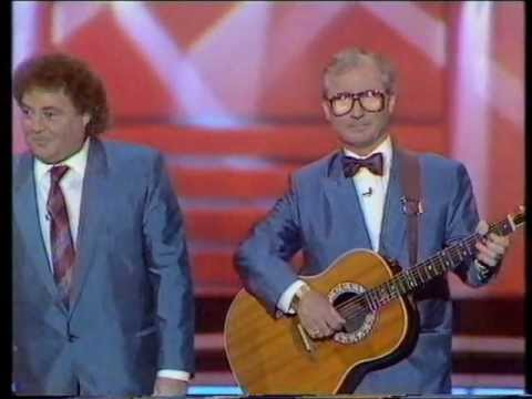 Little and Large live performance 1987