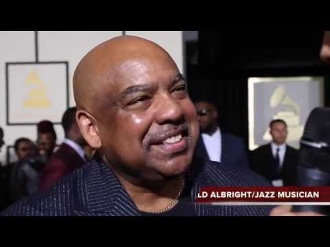 Gerald Albright interview at the 57th Annual Grammy Awards