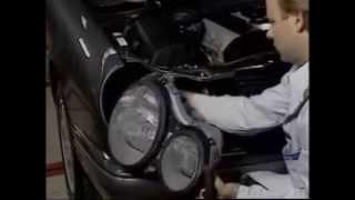 Как снять фары на дорестайловом Mercedes-Benz W210(Как снять фары на дорестайловом Mercedes-Benz W210., 2015-09-13T13:50:09.000Z)