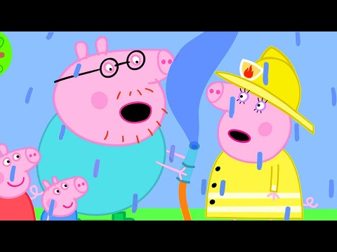 Peppa Pig Official Channel | Peppa Pig's Fire Station Practice