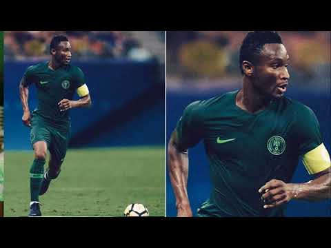 Nigeria release 2018 World Cup shirts