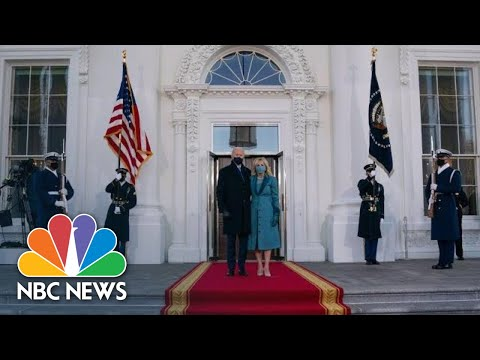 Live: Biden Administration Holds First White House Press Briefing | NBC News