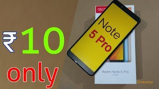 ₹ 10 only | Redmi Note 5 Pro only rs 10 | Latest Tricks