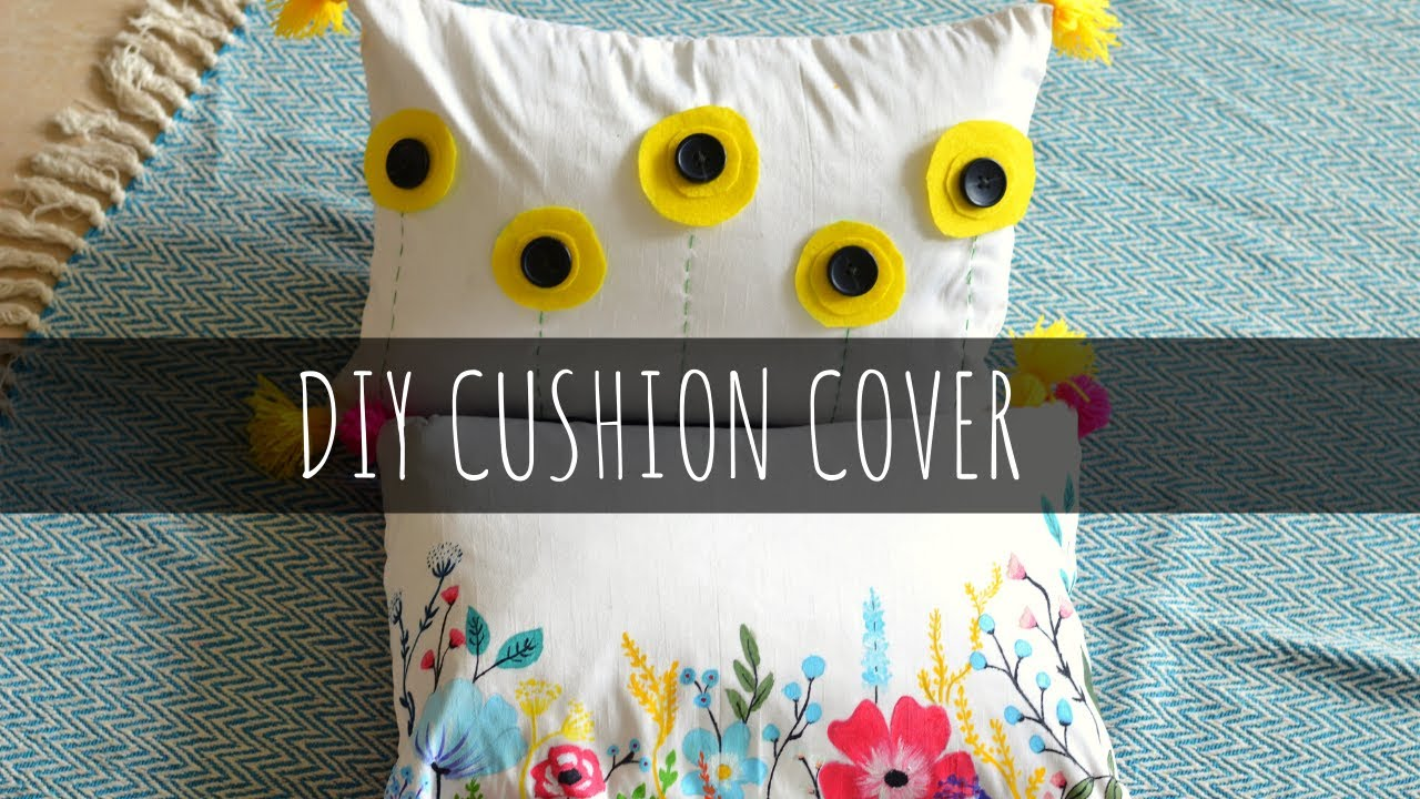 2 Simple and Easy Cushion Cover Ideas | Step By Step DIY Tutorial | Pillow Cover DIY