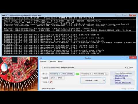 Download Cgminer 3.7.2 For Windows Scrypt Mining On Gridseed 5-chip GC3355 ASICs
