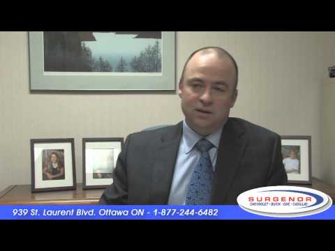 Surgenor now your Chevrolet Buick GMC Cadillac dealership in Ottawa Ontario
