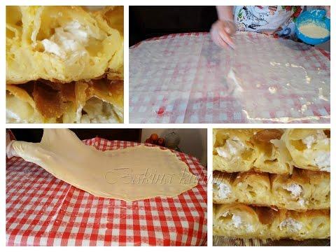 Bakina kuhinja - kako razvući domaće kore za pitu