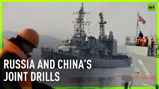Russia and China hold joint drills in the Sea of Japan