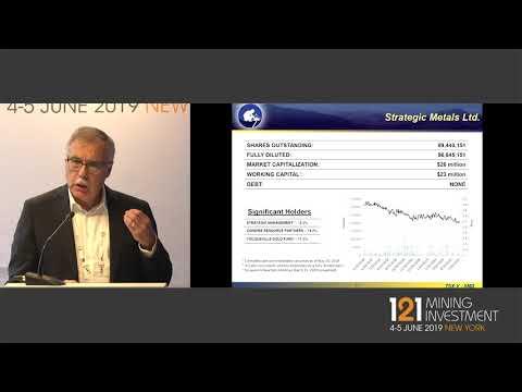 Presentation: Strategic Metals - 121 Mining Investment New York Spring 2019