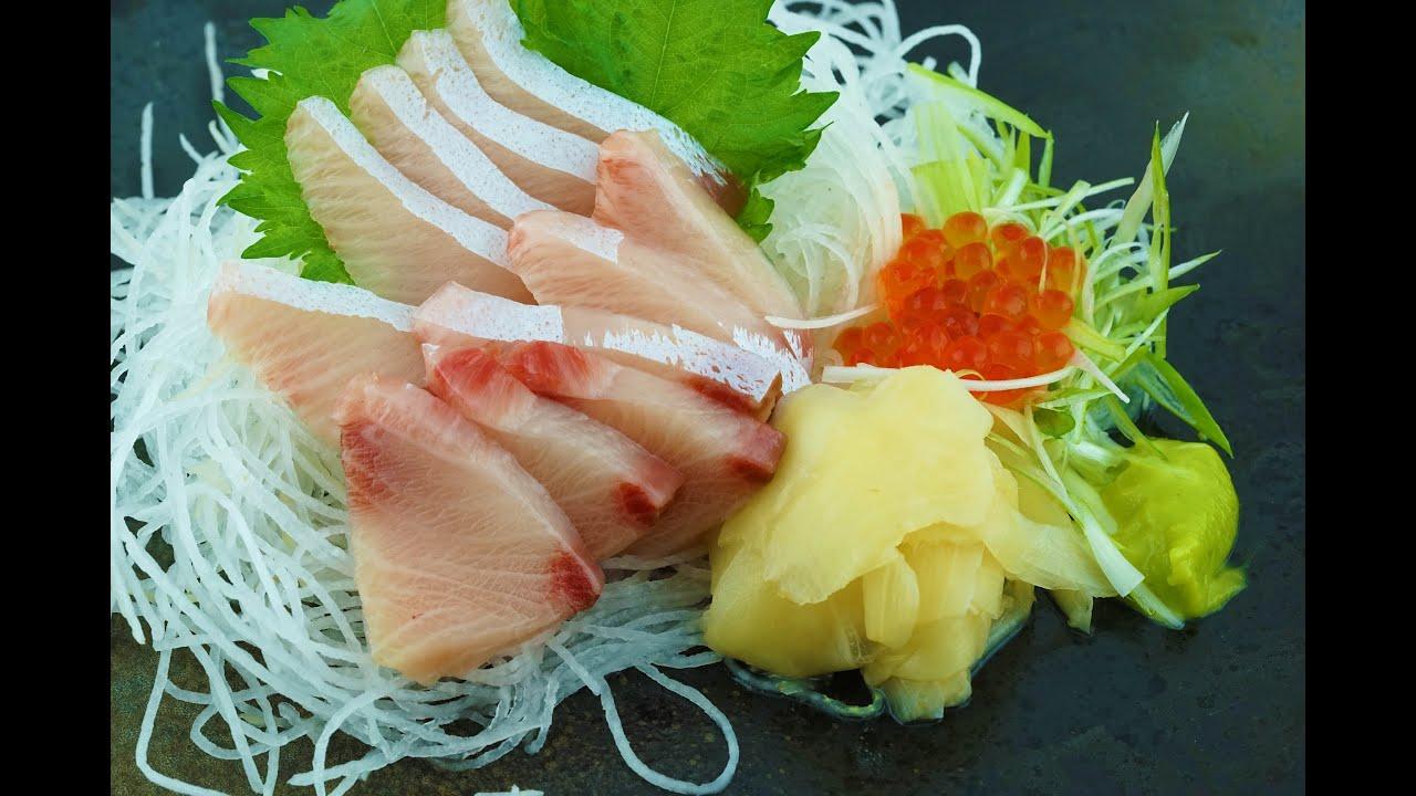 yellowtail sashimi images - 1280×720