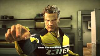 Dead Rising 2: Leon insults Chuck's cooking (PC Mod)