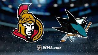 Dell notches shutout in Sharks' win over Senators