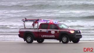 Daytona Beach Lifeguard Beach Patrol 3A Responding 7-6-15