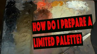 Painting with a limited palette by Gianluca Rotelli #2 episode
