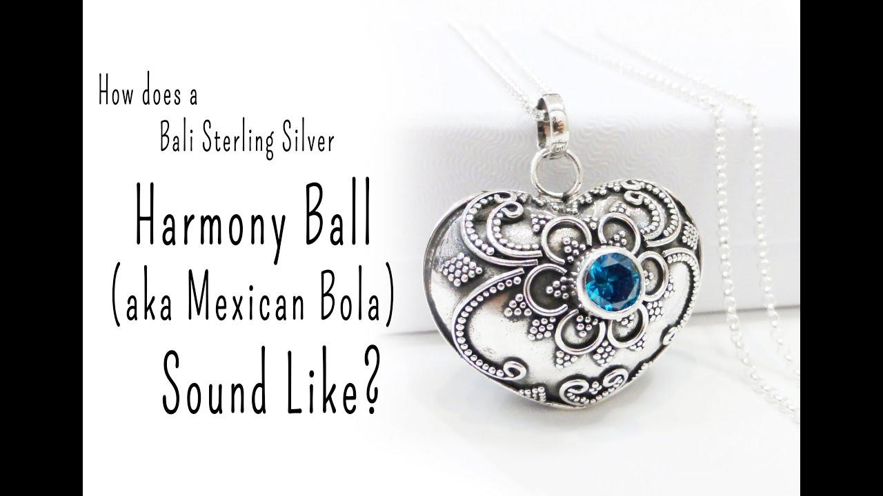 How does heart shape harmony ball aka mexican bola sound like how does heart shape harmony ball aka mexican bola sound like youtube aloadofball Gallery